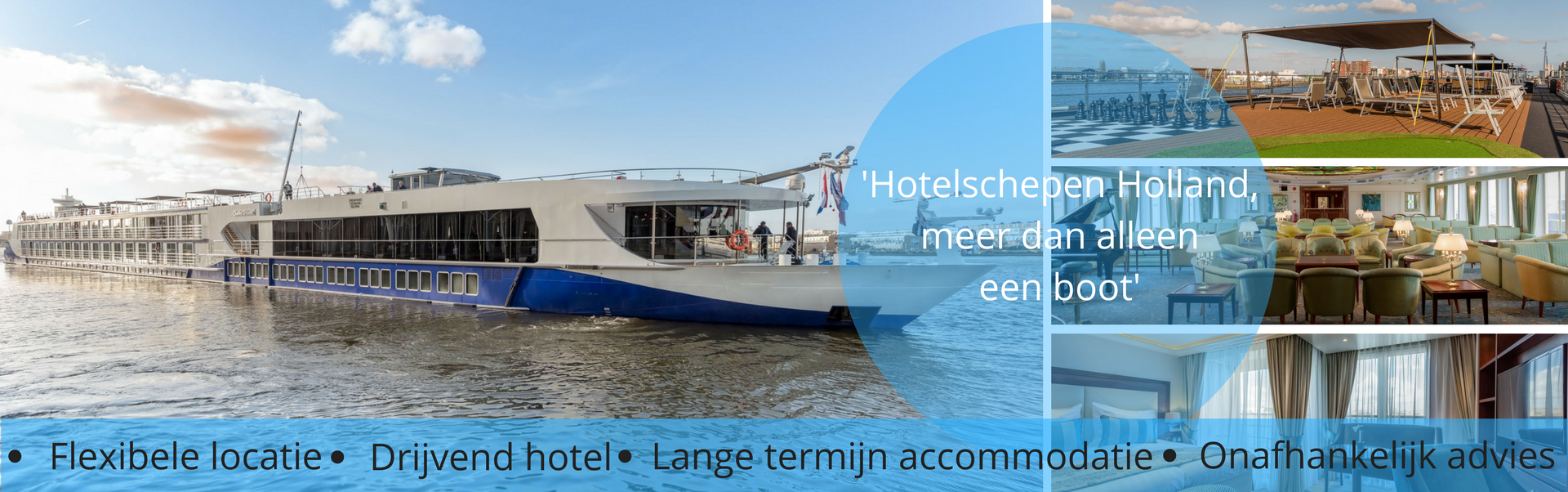Hotelschepen holland meer dan een boot
