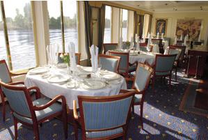 hotelschip restaurant Cezanne