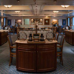 restaurant hotelschip MS Cezanne